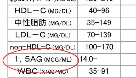 1,5-AGと食後高血糖