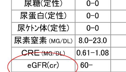 eGFRと腎機能